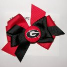 University of Georgia Hair Bow