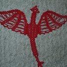 Crochet Dragon Doily Pattern