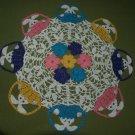 Peeking Easter Bunnies in Baskets Crochet Doily Pattern