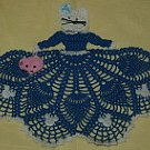 Kitty Cat Girl Doily Crochet Pattern