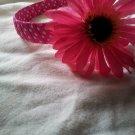 Pink Daisy Polka Dots