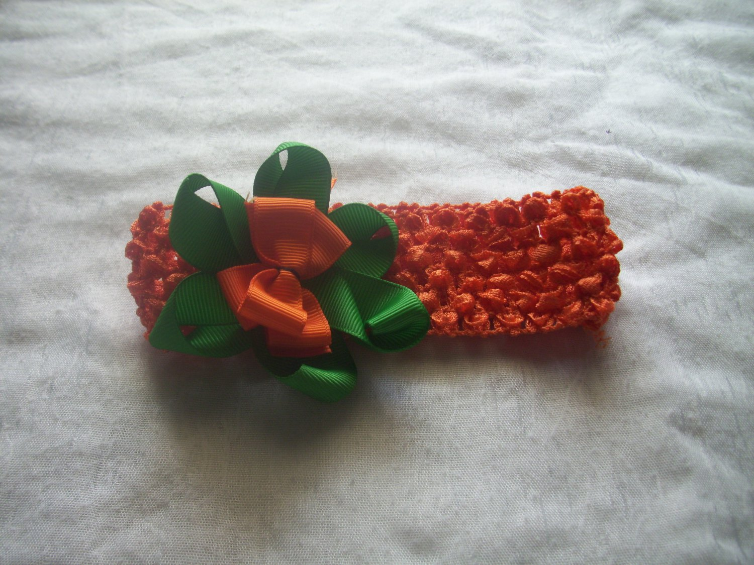 Pumpkin Headband (Orange)