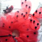 Lady Bug Tutu With Accessories