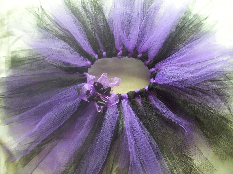 Toodleloos Purple and Black Tutu