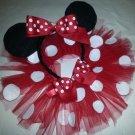 Toodleloos Minnie Mouse Tutu with Ears
