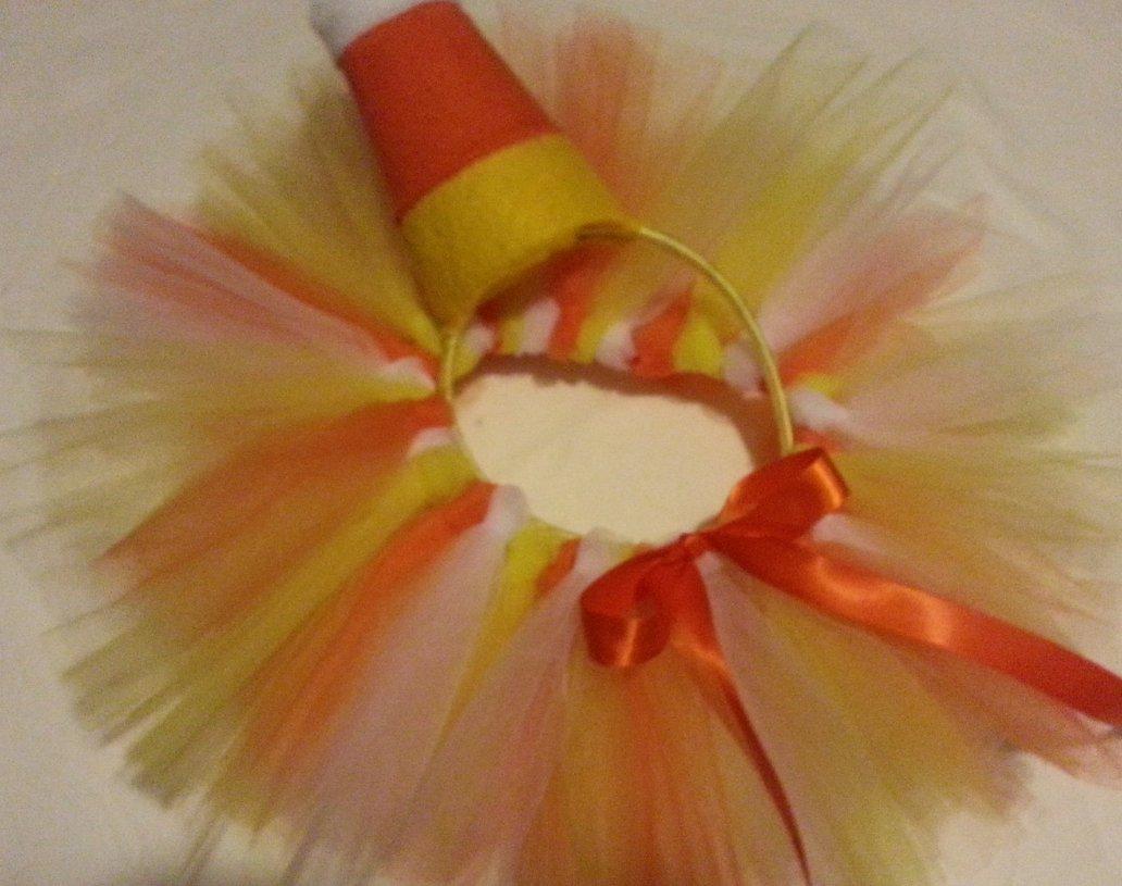 Toodleloos Candy Corn Tutu with Headband