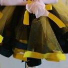 Bumblebee Ribbon Trimmed Tutu 3-6M