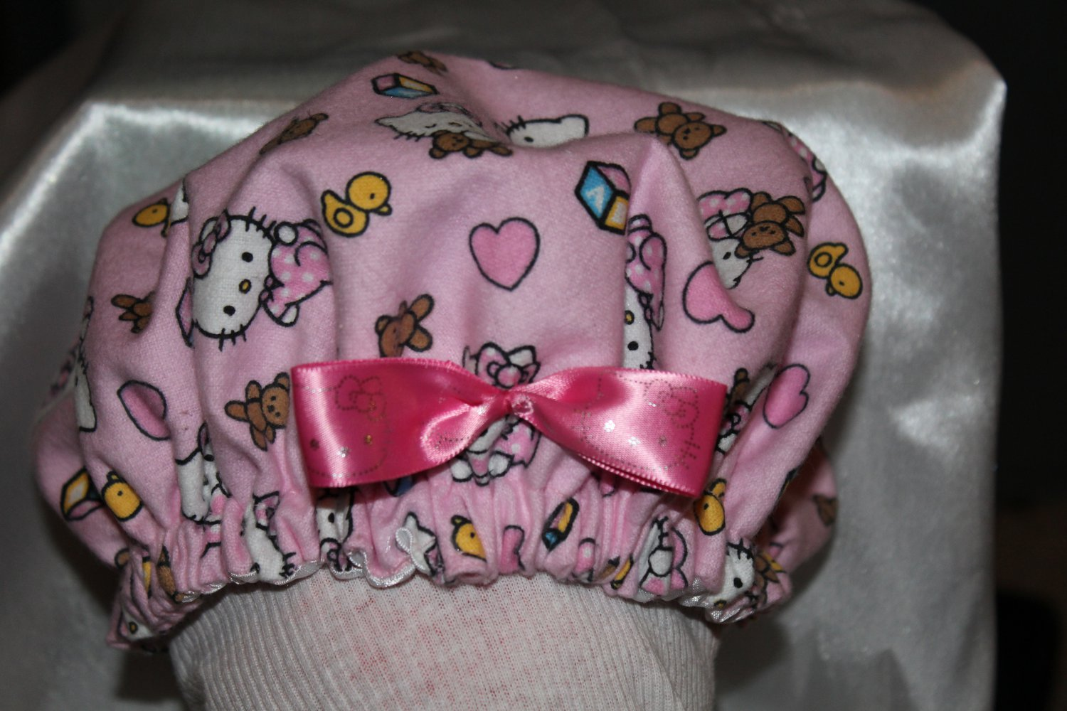 Hello Kitty Baby Bonnet