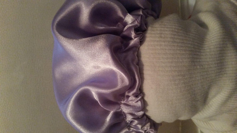 lavender Baby Bonnet