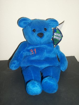 """Mike Piazza Spring 1999 """"Salvino's Bammers"""" Opening Day Bear"""