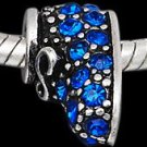 Blue Baby Bootie Charm