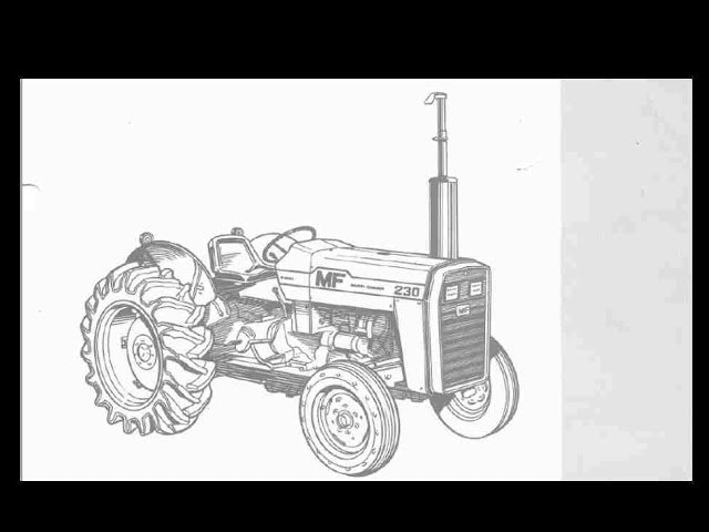 Massey Ferguson Tractors Parts Catalog : Massey ferguson mf tractor parts catalog manual