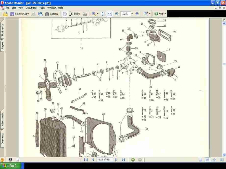 Mf 65 Wiring Diagram - Wiring Diagram Structure