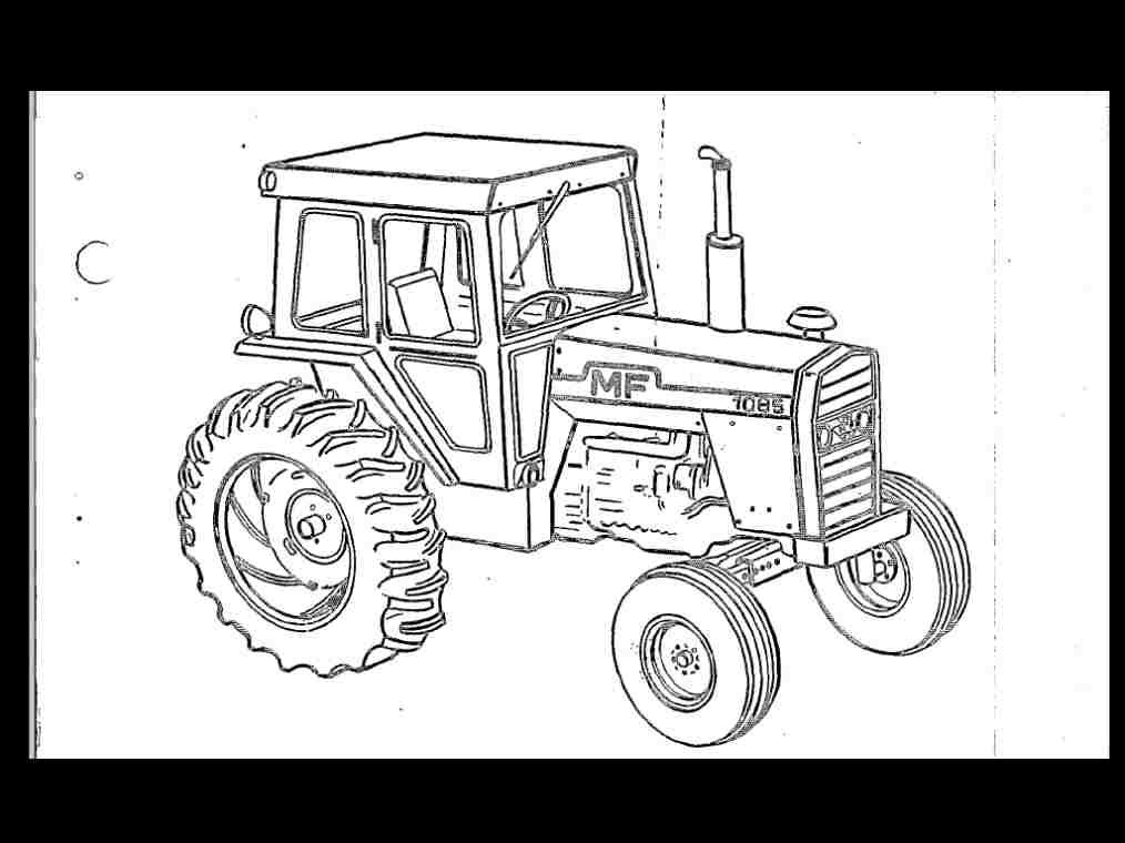 Massey Ferguson Mf 1155 Tractor Parts Manual   Part Number