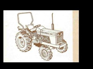 MASSEY FERGUSON MF 1040 TRACTOR PARTS MANUAL & DIAGRAMs