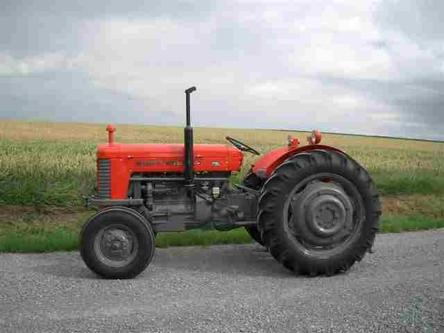 Massey Ferguson Mf 65 Gas  U0026 Diesel Tractor Operation