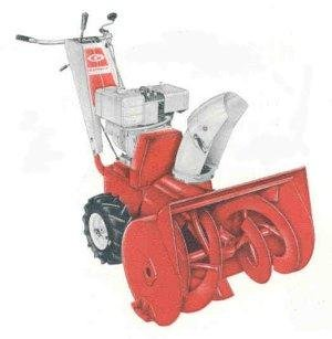 GILSON SNOWTHROWER SNOW THROWER PARTS MANUAL Collection
