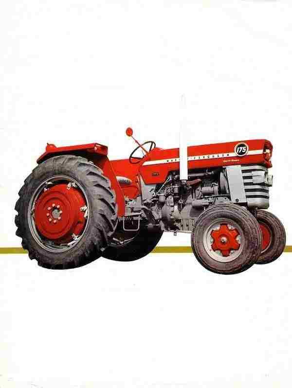 Massey Ferguson 175 Hydraulic Problem : Massey ferguson mf operations manual for tractor