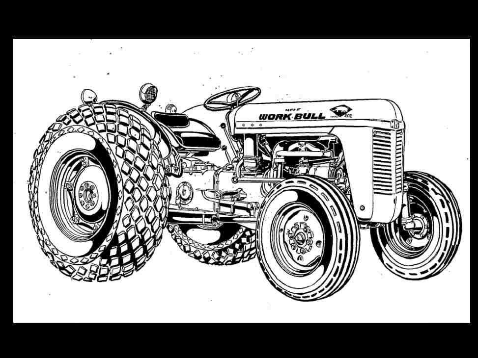 MASSEY FERGUSON TO 35 MF 202 204 Tractor Parts Manual