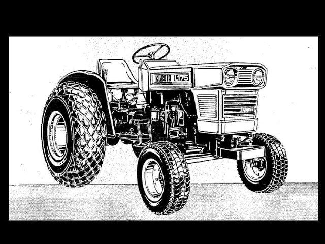 Kubota L175 T F Parts Manual  U0026 L