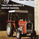 MASSEY FERGUSON MF235 WORKSHOP SERVICE MANUAL 183pg with MF 235 Tractor Repair