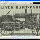 OLIVER HART PARR 3-5 TRACTOR MANUAL with Operation Service & Repair Instructions