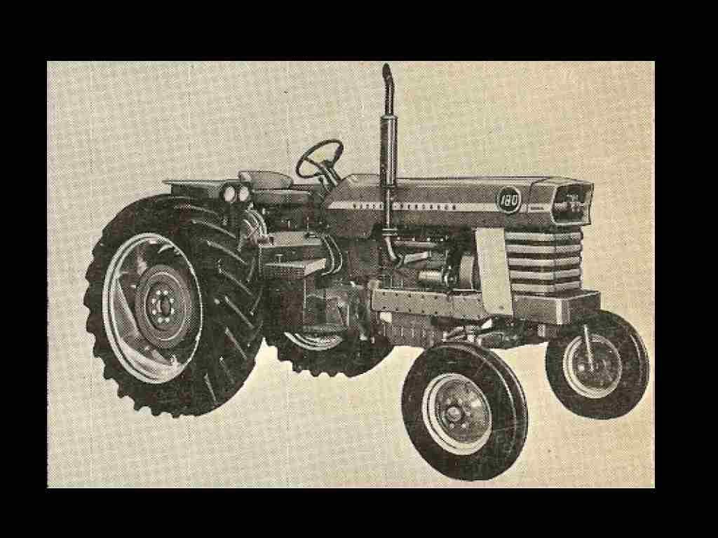 Massey Ferguson 180 Mf180 Operations Manual For Tractor
