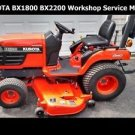 KUBOTA BX-1800 BX-2200 TRACTOR WORKSHOP MANUALS for Tractor Service & Repair