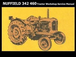 Nuffield 342 460 3dl 4m 4pm 4dm Workshop Service Manual