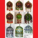 You Choose 4 - Victorian Inspired Beaded Christmas Ornament Patterns - .pdf