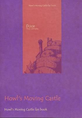 Howl's Moving Castle DOUJINSHI Howl x Sophy  (rare)