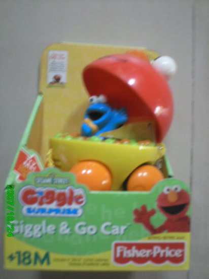 Fisher Price Sesame Street Giggle Surprise Elmo
