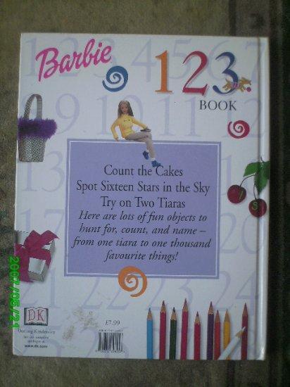 Barbie 123 Number  Book