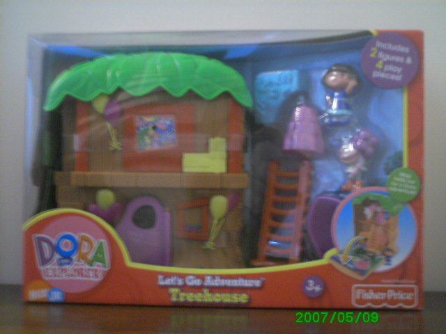 Fisher Price Dora the Explorer - Lets Go Adventure Tree House