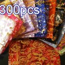 Mixed Colorful 4.7x3.5inch(12x9cm) Organza Bag Pouch for Gift Jewelry with Printed Pattern