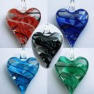 1pcs Glass Lampwork Hand Art Craft Colorful Cheap Flower Jewelry Pendant SC0116-120