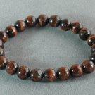 Natural Red Tiger Eye Gemstone Buddhist Mala Bracelet TG21