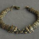 Alloy Zinic Brass Cool Male Men's Gift Joint Section Snake Python Boa Anaconda Bracelet EB2006