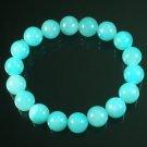 Tibetan Baby Blue Gemstone Bead Buddhist Mala Bracelet WZ208