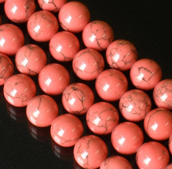 10 Strand 15inch Polished Light Pink Gemstone Loose 0.4inch Beads ZZ5093