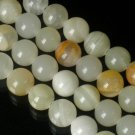 10 Strand 15inch Polished Light Color Gemstone Loose 0.5inch Beads ZZ5096