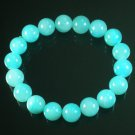 Wholesale 12pcs Tibetan Baby Blue Gemstone Bead Buddhist Mala Bracelet WZ208