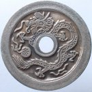 Chinese Feng Shui Bronze Coin - Dragon Phoniex Flower 202