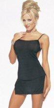 Slinky Open Back Mini Dress ( 0480L-8516 )