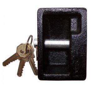 EXTRA STRONG CAST IRON PADLOCK rectangular shape NEW