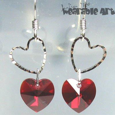 My Sweetheart - Swarovski Crystal Earrings