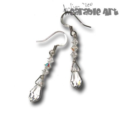 Raindrops - Swarovski Crystal Earrings