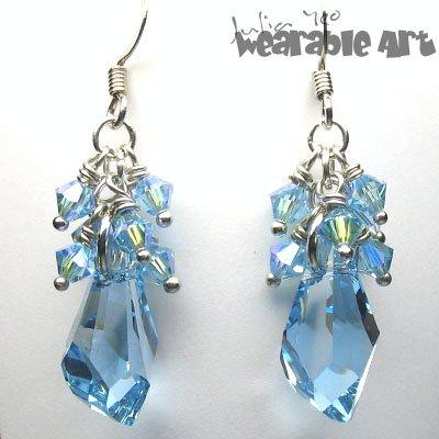 Just Blu - Swarovski Crystal Earrings