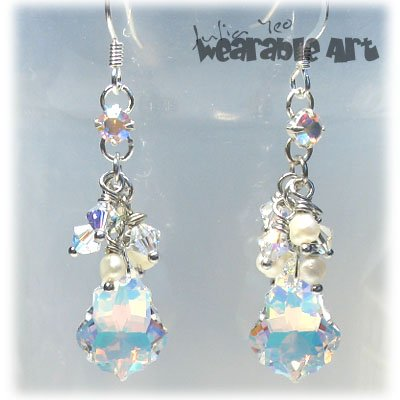 Wedding Baroques - Swarovski Crystal Earrings