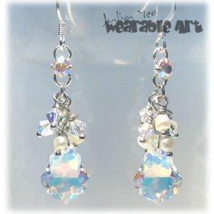 Wedding Baroques - Swarovski Crystal Earrings